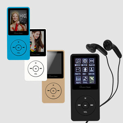 Portable 8GB MP3 Player Hi-Fi Sport FM Radio APE FLAC AVI AMV MP3 Music Player