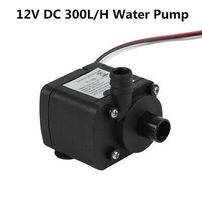 12V DC Water Cooling Pump 300L/H Ultra-quiet for PC Computer CPU Cooler System T