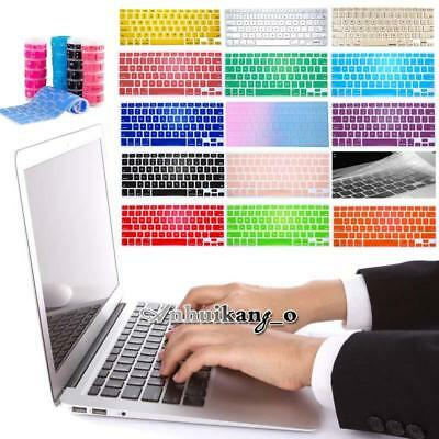 Silicon Keyboard Skin Protector Cover For 13 Inch Apple MacBook Air/Pro/Retina