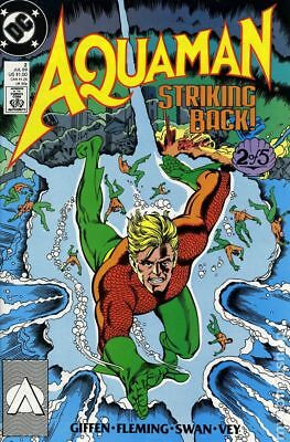 Aquaman (2nd Limited Series) #2 1989 VG Stock Image Low Grade