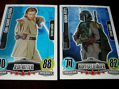 Topps FORCE ATTAX Star Wars MOVIE EDITION Serie 1 - JEDI-RITTER 194 /KOPFGELDJÄG