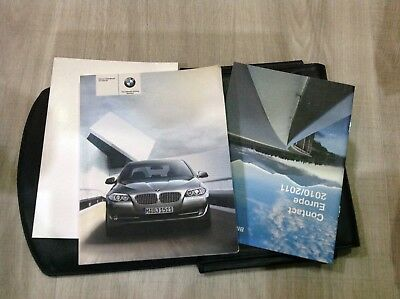 bmw 5 series 2010 owners manual