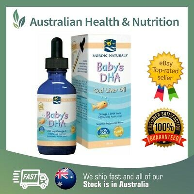 Nordic Naturals Baby's Dha 60Ml - High Quality - Support Healthy Development