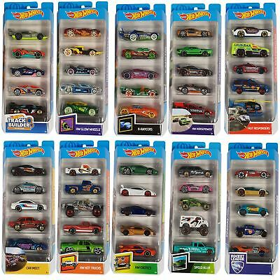 Mattel Hot Wheels 5 Car Gift Pack Assortment - 12 Packs to Collect!