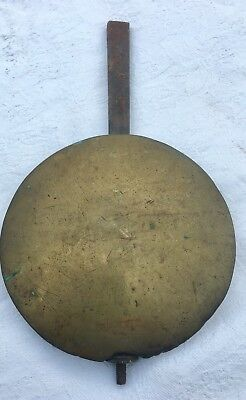 Antique Brass Face Grandfather Longcase Clock Pendulum Bob Bo3