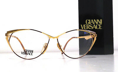 Gianni Versace Real Vintage Eyeglasses Lady Cat's Eyes V79 Montatura Occhiali