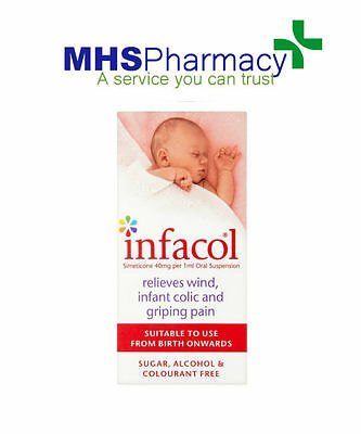 Infacol Suspension Relief From Wind, Infant Colic & Griping Pain Drops - 55ml