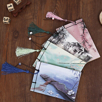 Book Tassel Stationery Chinese Style Notepad Journal Sketch Blank Notebook Pop