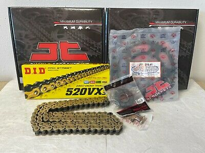 Honda Cbr500R Chain And Sprocket Kit 13-17 Heavy Duty Did Gold X-Ring