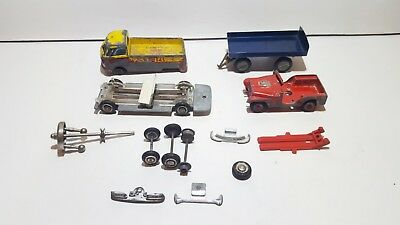 Lot of Vintage Tekno Denmark models and parts for spares or renovation 1950-60