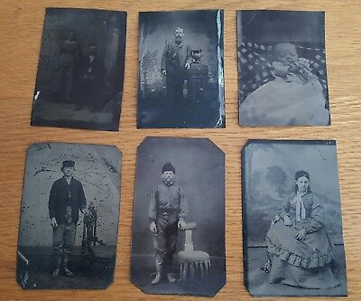 Lot of Antique Tin Types #1