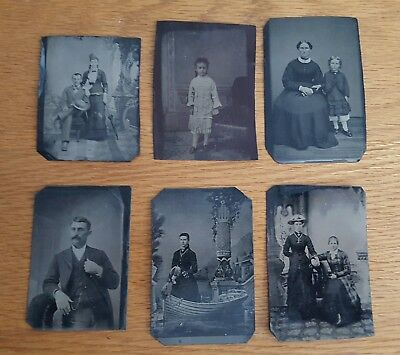 Lot of Antique Tin Types #3