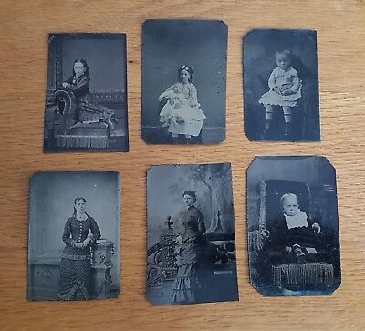 Lot of Antique Tin Types #4