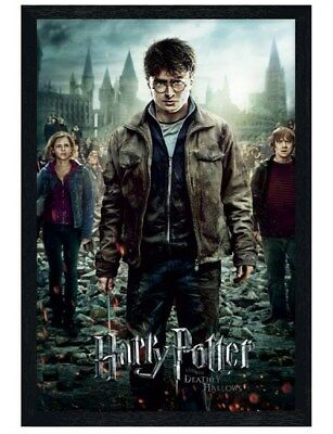 Harry Potter in schwarzes Holz eingerahmtes The End is Coming! Poster 61x91,5cm