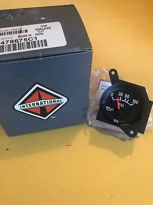 Free Shipping!!! New International Oil Pressure Gauge 478675C1, One Gauge G2F