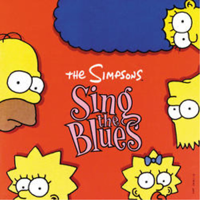 The Simpsons-Simpsons (The) - Sing The Blues (UK IMPORT) CD NEW