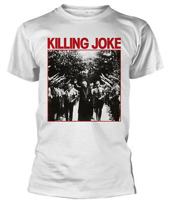 Killing Joke 'Pope' (White) T-Shirt - NEW & OFFICIAL!
