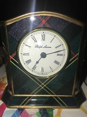 Ralph Lauren Clarendon Clock Made In England 1989