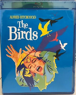 The Birds Blu-ray w/ Pop Art Cover (NEW, SEALED)