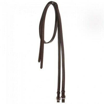 """Royal King Weighted Split Leather Show Reins - 3/4"""" x 81"""", 56 Ounces"""
