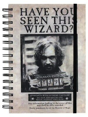 Harry Potter Carnet A5 Wanted Sirius Black