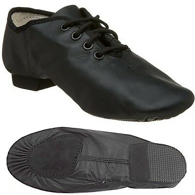 Leather Jazz Modern Dance Shoes