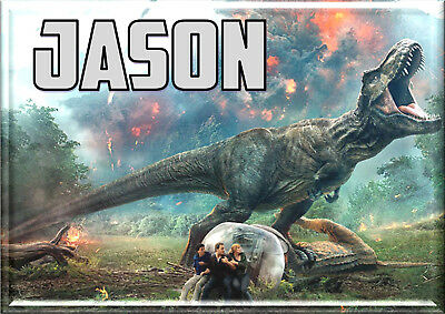 JURASSIC WORLD Personalised A4 Laminated dinner Placemat Place Mat