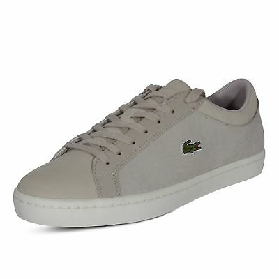 af9b9a97d Lacoste Sneakers StraightSet SP 417 1 CAM Casual Fashion Shoes Leather Grey
