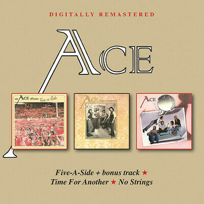 Ace - Five-A-Side / Time For Another / No Strings [New CD] Bonus Track, UK - Imp