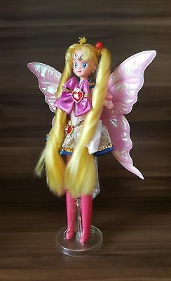 Sailor Moon Puppe mit Super Sailor Moon Flügel Kleid / Doll w Wing Outfit Dress