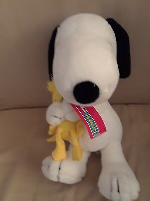 Applause Best Friends Snoopy And Woodstock Plush