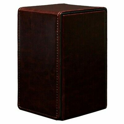 Ultra PRO Alcove Tower Deck Box Limited Edition - Cowhide