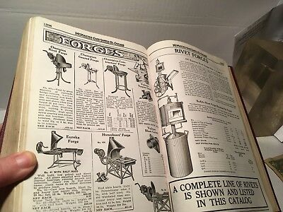 Vintage 1942 Mcmaster Carr Catalog Blacksmith Woodworking Tools