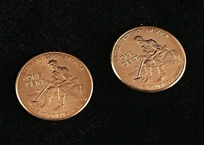 2009 P&D Bicentennial Lincoln Pennies :: Formative Years From Mint Roll