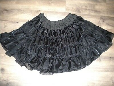 "Great American Square Dance Company Black Petticoat 32""-34"" Waist, 22"" Long"
