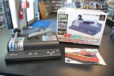Sony Playstation PS1 Japan Import Taito Densha de Go Controller