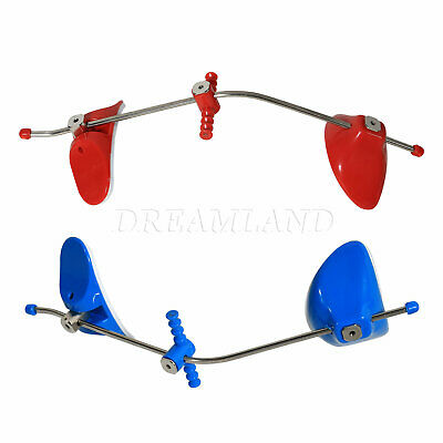 2X Dental orthodontic Face Mask Forward pull Facemask Single Bars Blue Red ET6W