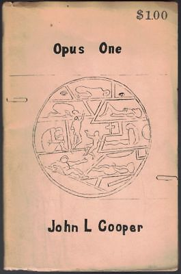 John L COOPER / Opus One Illustrated Beat literature 1966 First Edition