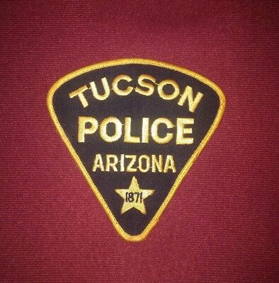 Collectible Tucson, Arizona Police Patch NEW