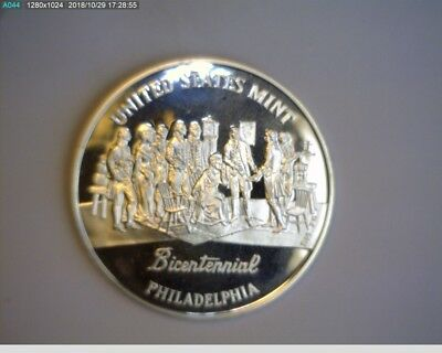 1993 P U.S. Mint Bicentennial Silver Medal from Philadelphia Set  PROOF Nice !!!