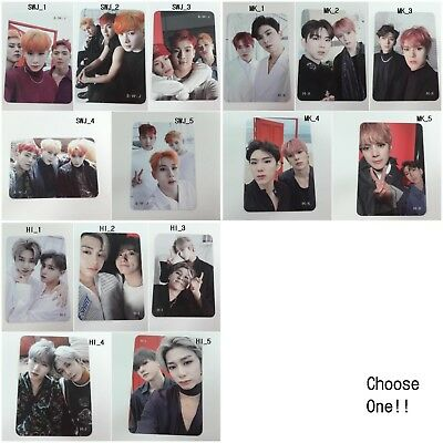 MONSTA X 2nd Take1 Are You There? selected Pre-order benefit Unit photocard KPOP