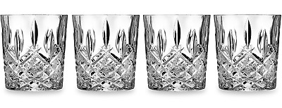 Marquis by Waterford Markham Double Old Fashioned Glasses, Set of 4, New