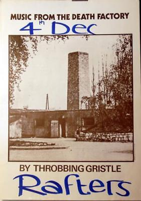Throbbing Gristle Music From The Death Factory - Rafters 4... poster UK promo