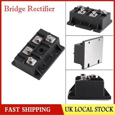 Single-Phase Diode Bridge Rectifier 200A 1600V Stable High Power 4 Terminal