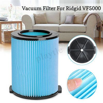 Wet/Dry Vacuum Cleaner Filter Element Replacement For Ridgid VF5000 6-20 Gallon