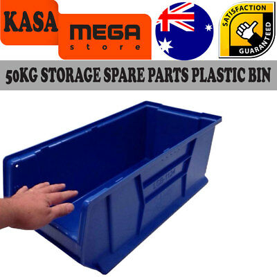 Plastic Bin Stack Massive XXL 50 Kg Storage Spare Parts able Commercial Quality