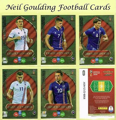 Panini WORLD CUP 2018 ☆☆☆☆☆ LIMITED EDITION ☆☆☆☆☆ {BRAZIL EDITION} #469 to #562