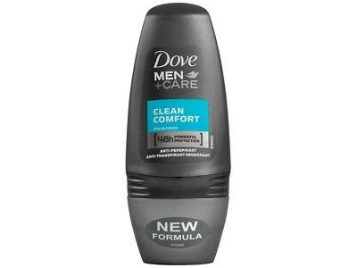 Dove Deo Roll-On Clean Confort Hombre 50ml