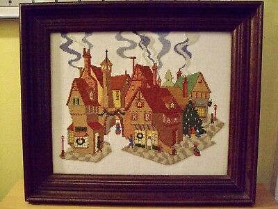 Needlepoint Framed Picture