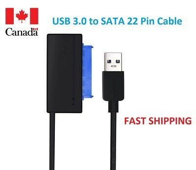 USB 3.0 to 22Pin SATA Cable Adapter for 2.5'' SSD HDD Converter Super Speed